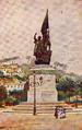 Estátua de Álvares Cabral no Brasil (Roque Gameiro, Quadros da História de Portugal, 1917).png