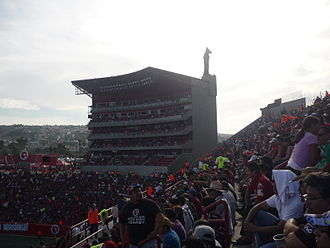 Club Tijuana - Estadio Caliente's capacity was increased after the team's promotion.