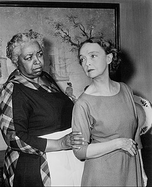 Playwrights '56 - Ethel Waters and Lillian Gish in the presentation of The Sound and the Fury, 1955
