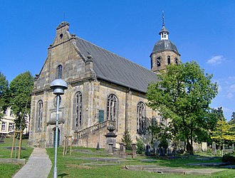 Bad Bentheim - Reformed Protestant church from 1696