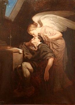 Félix Nicolas Frillié - le baiser de la muse