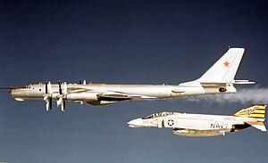 VFA-151 - VF-151 F-4B intercepts a Soviet Tu-95
