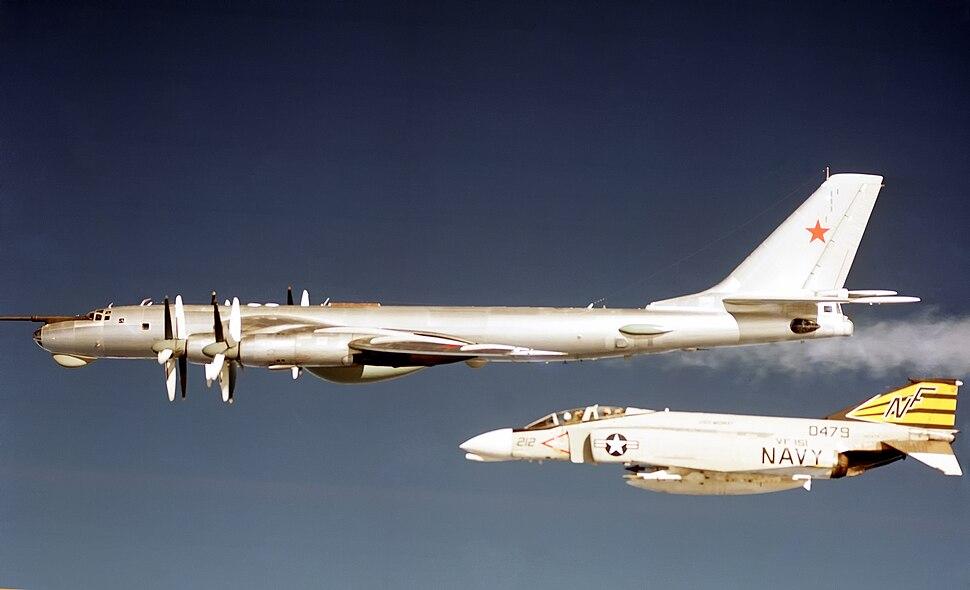 F-4B VF-151 CV-41 TU-95