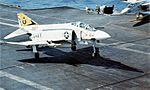 F-4J Phantom II of VF-92 landing on USS Constellation (CVA-64) in 1973.jpg