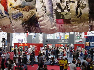 Guadalajara International Book Fair - Main entrance during the 2002 Guadalajara International Book Fair