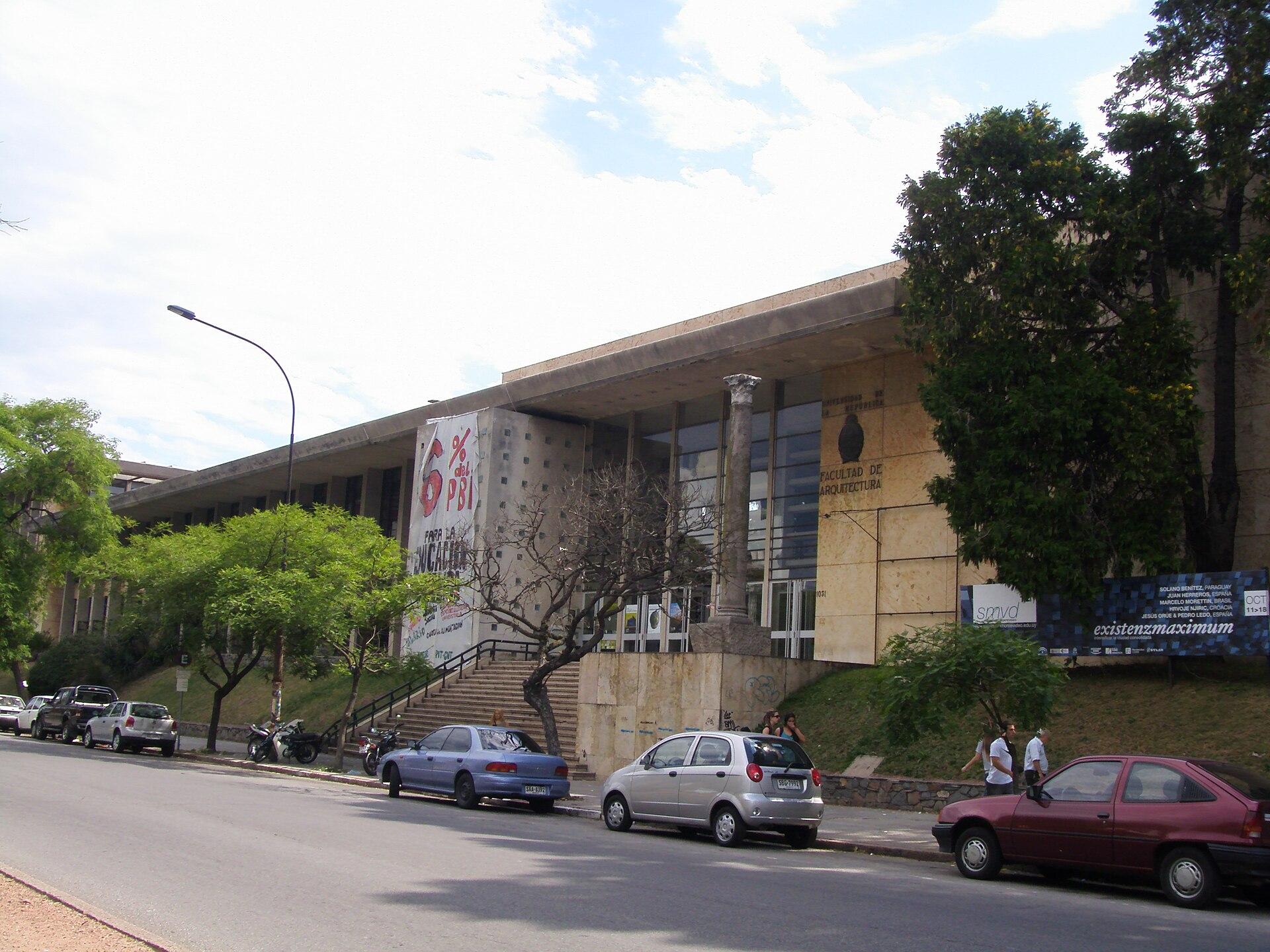 Facultad de arquitectura universidad de la rep blica for Facultad de arquitectura uni