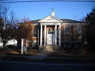 Nichols, Connecticut - Fairchild-Nichols Library built in 1925