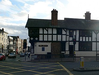 The Falcon, Chester - The Falcon from the north