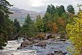 Falls of Dochart, Killin, Perthshire, Scotland, 5 Oct. 2010 - Flickr - PhillipC.jpg
