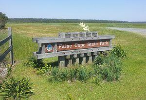 False Cape State Park - False Cape State Park Entrance