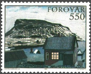 Nólsoy - Image: Faroe stamp 114 steffan danielsen