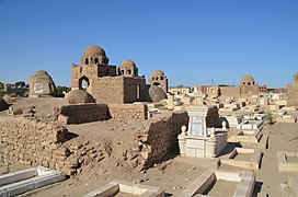 Fatimid Cemetery at Aswan