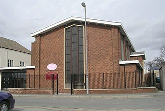 Featherstone - The former Methodist chapel