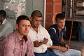 Felafel stand patrons - Flickr - Al Jazeera English.jpg