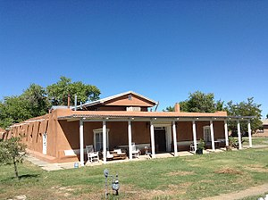 National Register of Historic Places listings in Valencia County, New Mexico - Image: Felipe Chavez Hacienda