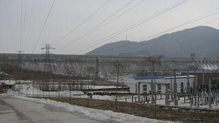 Fengman Dam dam