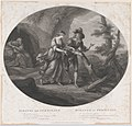 Ferdinand and Miranda (Shakespeare, The Tempest, Act 3, Scene 1) MET DP858683.jpg