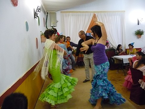 Flamenco school for flamenco lessons