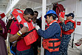 Fijian patients depart USNS Mercy during Pacific Partnership 2015 150618-F-YW474-135.jpg