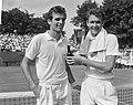 Finales tennis te Hilversum, rechts E. S. Drysdale, Bestanddeelnr 916-6825.jpg