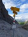 Fingerpost on Pass digls Orgels.jpg