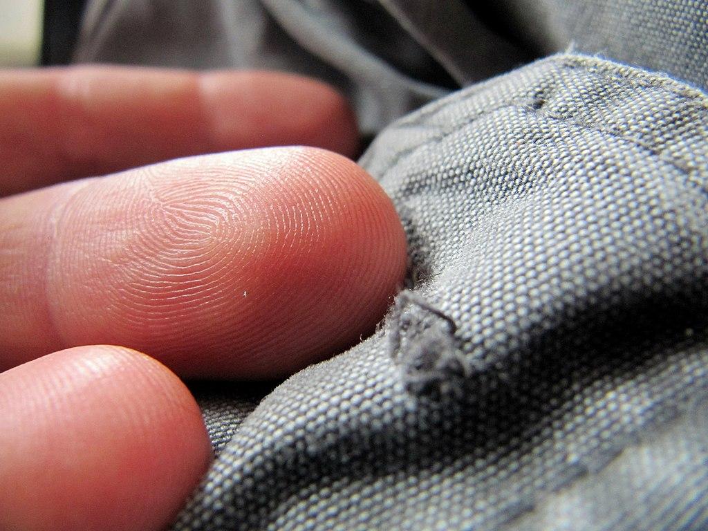 Fingertips macro