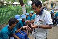 Fire-making - Survival Programme - Summer Camp - Nisana Foundation - Sibpur BE College Model High School - Howrah 2013-06-09 9677.JPG