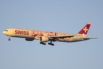 Swiss Global Air Lines - Swiss Global Air Lines Boeing 777-300ER, operated for Swiss International Air Lines