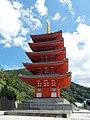Five-storied pagoda of Honpuku-ji, Kiyama, Saga.jpg