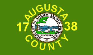 Augusta County, Virginia - Image: Flag of Augusta County, Virginia