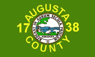 Augusta County, Virginia - Image: Flag of Augusta County, Virginia