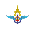 Flag of the Thai Defence Minister.svg