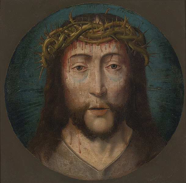 File:Flemish School c1530 Christ As the Man of Sorrows.jpg
