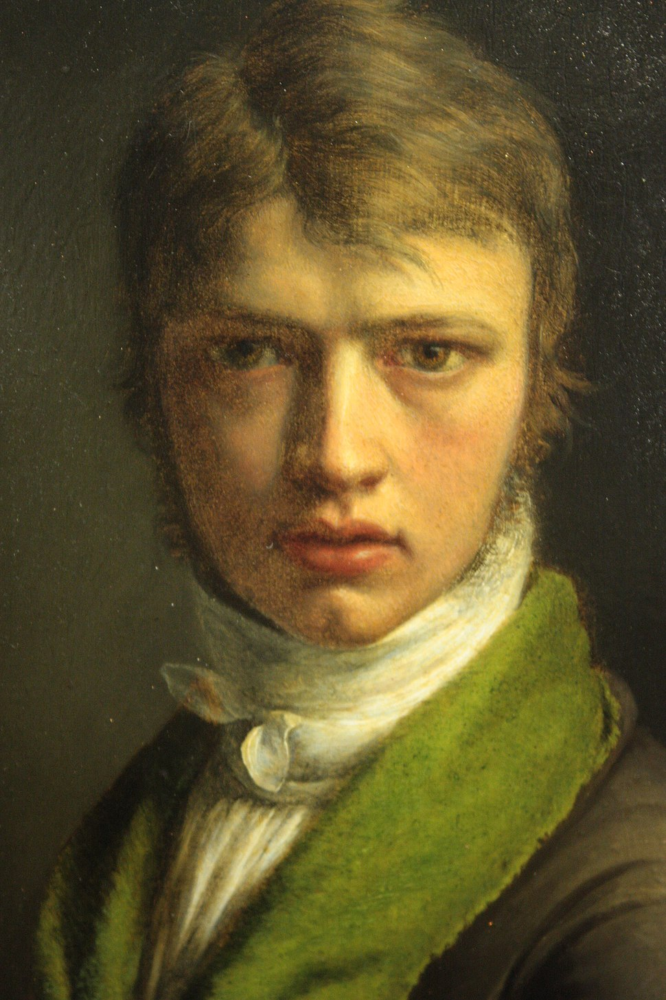 Fleury Richard (self portrait in youth)