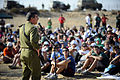 Flickr - Israel Defense Forces - Chief of Staff with Kibbutz Movement Youth, Dec 2010 (1).jpg