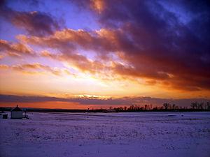 Coolbaugh Township, Monroe County, Pennsylvania - Coolbaugh Township in December 2007