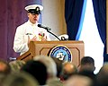 Flickr - Official U.S. Navy Imagery - Retired MCPON Rick West speaks at his Change of Office..jpg