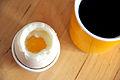 Flickr - cyclonebill - Kaffe og blødkogt æg.jpg
