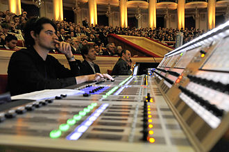 Audio engineer - Live sound mixing
