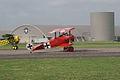 Fokker Dr.I Manfred Richthofen Taxi out 01 Dawn Patrol NMUSAF 26Sept09 (14597964654).jpg