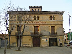 Folgueroles - Town hall