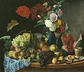 Foma Toropov. The Stillife with Flowers and Fruits, 1846.jpg