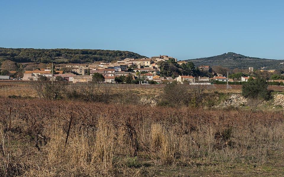 Fontès, Hérault, France.
