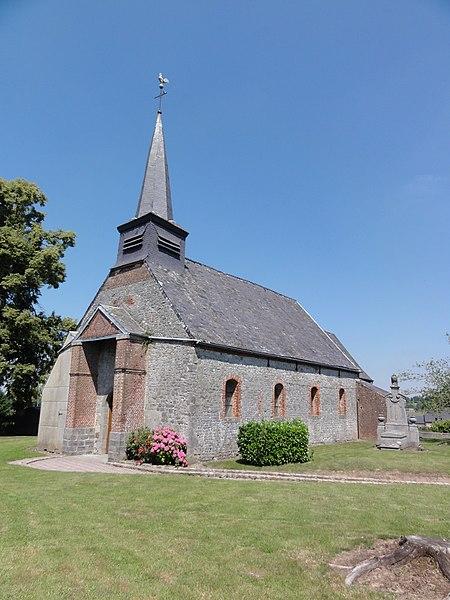 Fontenelle (Aisne, Fr) église