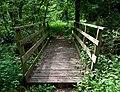 Footbridge across Stratford Brook, Shropshire - geograph.org.uk - 1304526.jpg
