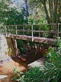 Footbridge over Dick Brook - geograph.org.uk - 1490105.jpg