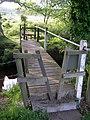 Footbridge over Dockens Water, New Forest - geograph.org.uk - 187158.jpg
