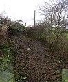 Footpath opposite Milestone - Gelderd Road - geograph.org.uk - 653213.jpg
