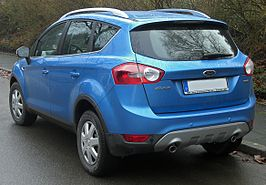 Ford Kuga (seit 2008) 2.0 TDCi rear MJ.JPG