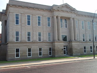 Ford County, Kansas - Image: Ford county kansas courthouse 2000